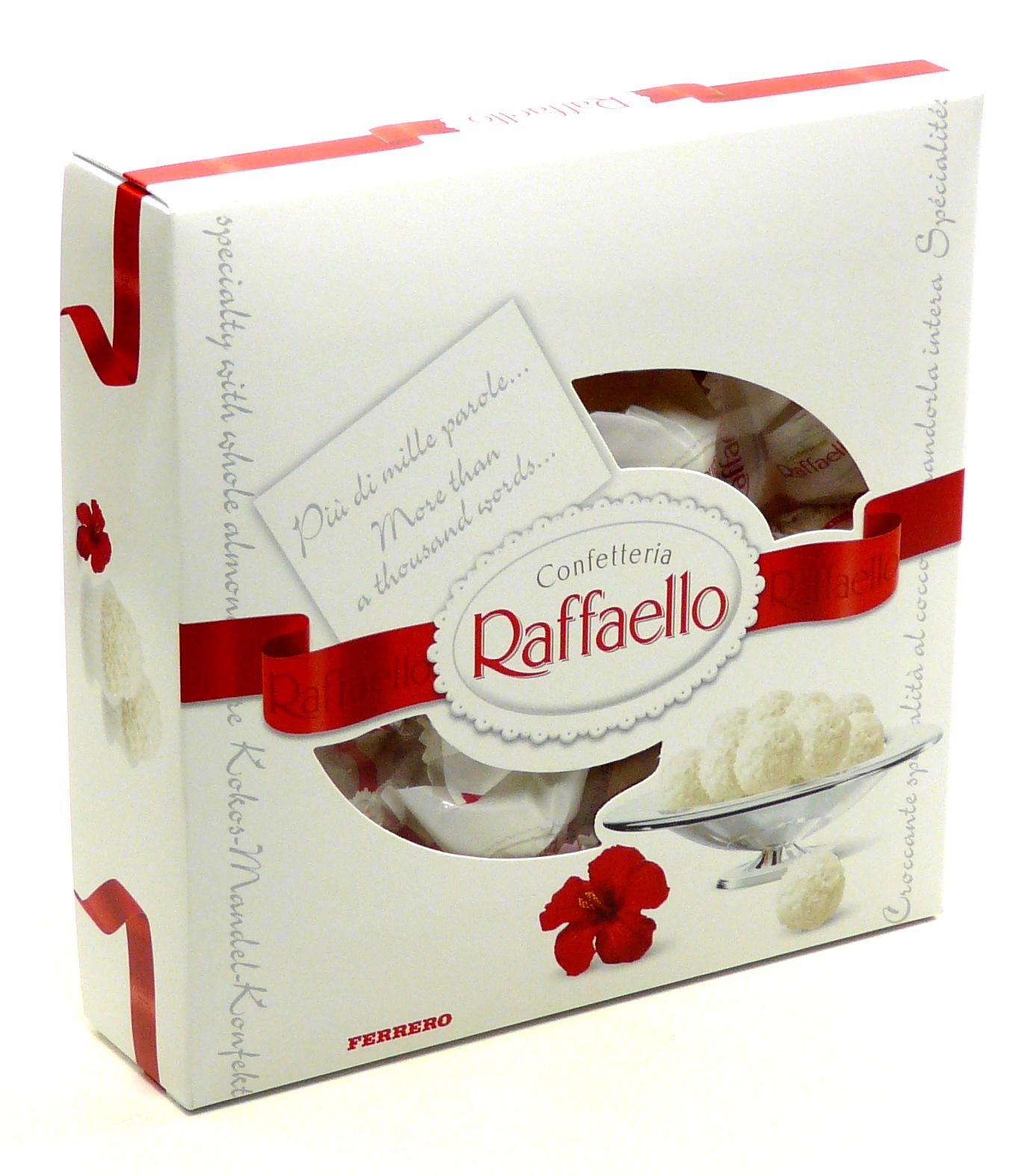Конфеты raffaello коробка